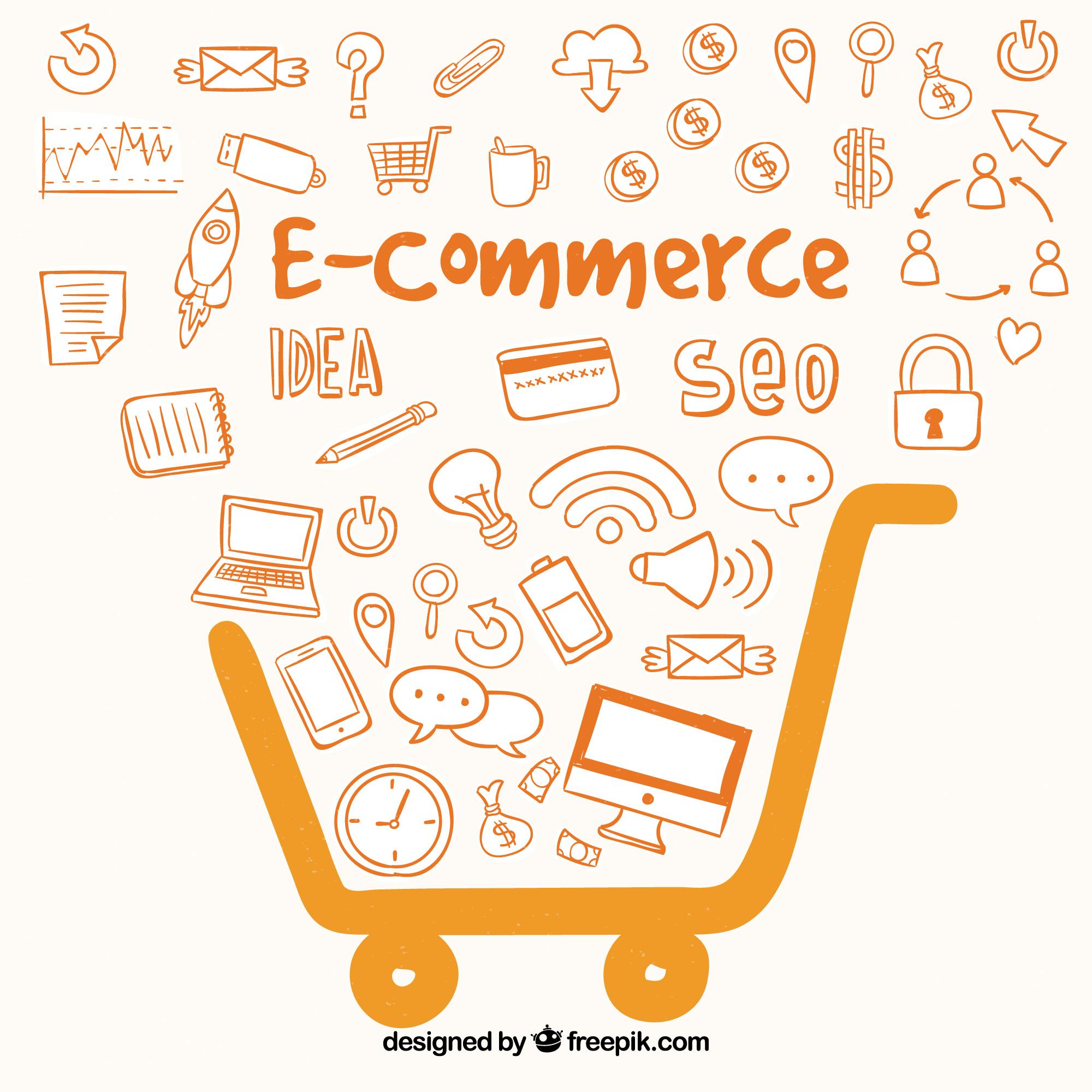 o crescimento do e-commerce no Brasil